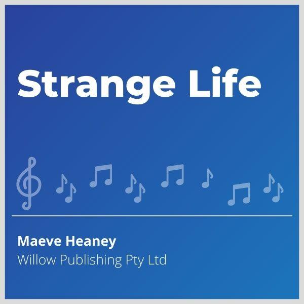 Blue-cover-music- Strange-Life