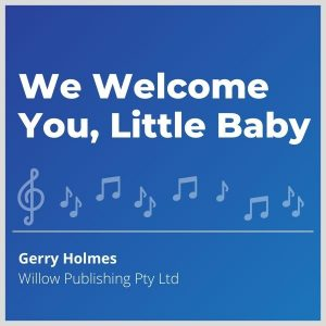 Blue-cover-music-We-Welcome-You-Little-Baby