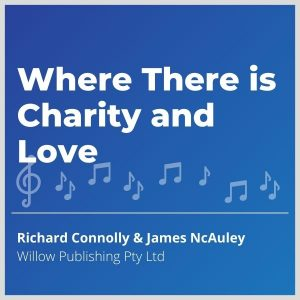 Blue-cover-music- Where-There-is-Charity-and-Love