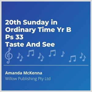 Blue-cover-music-20th-Sunday-in-Ordinary-Time-Yr-B-Ps-33-Taste-And-See