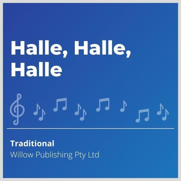 Blue-cover-music-Halle-Halle-Halle