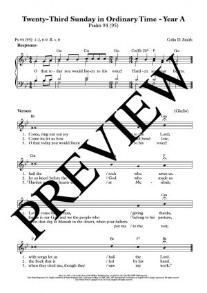 White-cover-music- Twenty-Third-Sunday-in-Ordinary-Time-Yr-A-Ps-94-REP071-Sample