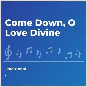 Blue-cover-music-Come-Down-O-Love-Divine