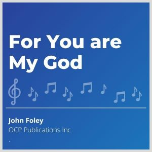 Blue-cover-music-Based on Psalm 16, this popular hymn is suitable for the Rite of Christian Initiation of Adults Rite of Entrance into the Order of Catechumens