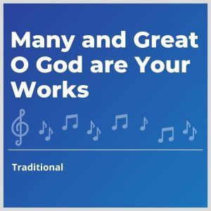 Blue-cover-music-Many-and-Great-O-God-are-Your-Works