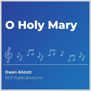 Blue-cover-music-O-Holy-Mary