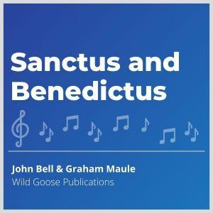 Blue-cover-music-Sanctus-and-Benedictus
