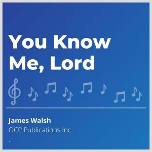 Blue-cover-music- You-Know-Me-Lord