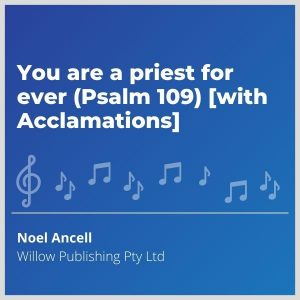 Blue-cover-music-You-are-a-priest-for-ever-Psalm-109-with-Acclamations